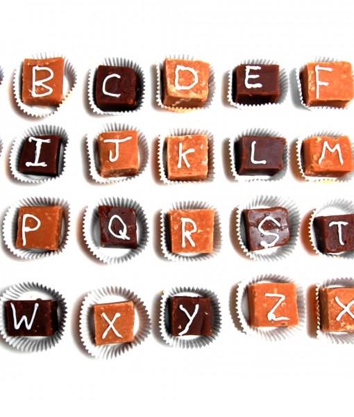 fudge-letters